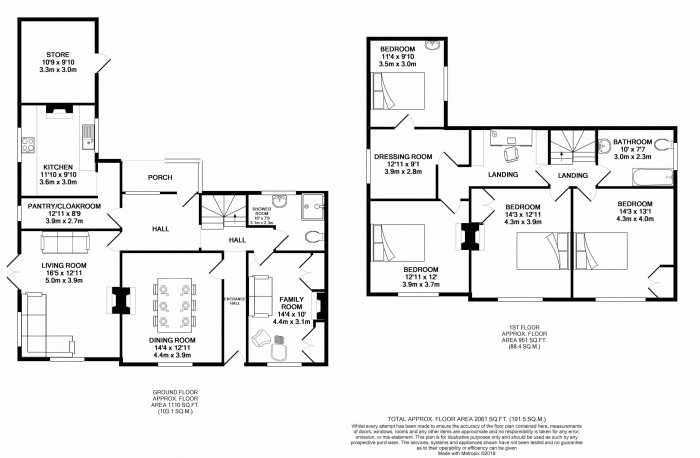 Floorplans For Chelford Road, Knutsford