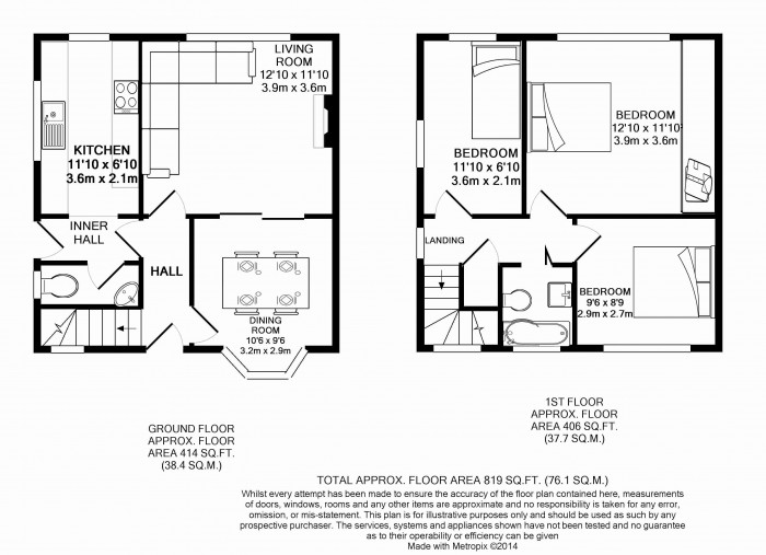Floorplans For Egerton Square, Knutsford