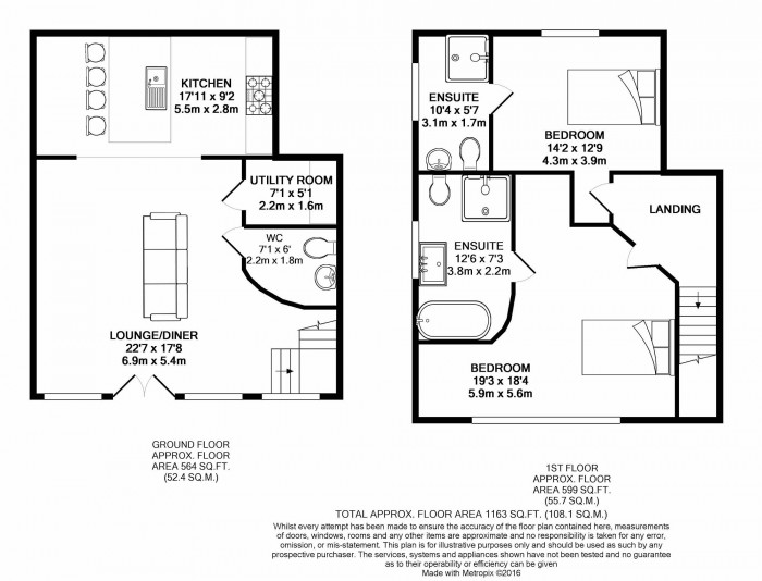 Floorplans For New Hall Estate, Stocks Lane, Over Peover