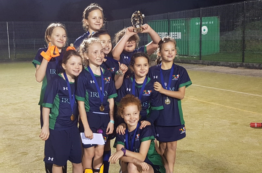 CONGRATULATIONS to Manor Park School girls football team